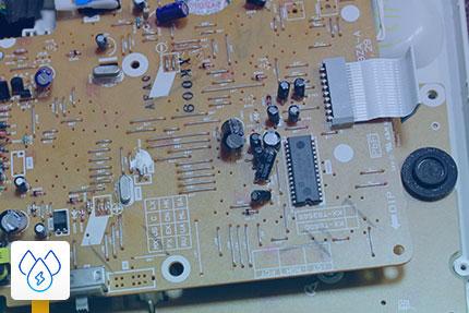 تعمیر مدار تلفن رومیزی