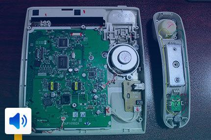 تعمیر LCD تلفن بیسیم پاناسونیک