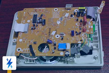 تعمیر LCD تلفن رومیزی پاناسونیک