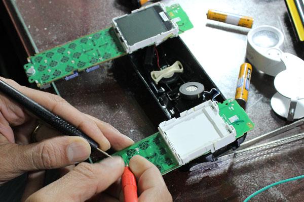 تعمیر تلفن بیسیم پاناسونیک