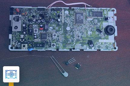 تعمیر مدار تلفن بیسیم پاناسونیک