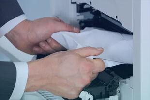 جمع کردن کاغذ