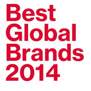 اعلام لیست بهترین برندهای جهانی سال 2014