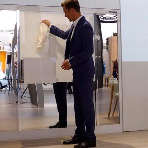 درباره روبات لباس تا کن پاناسونیک
