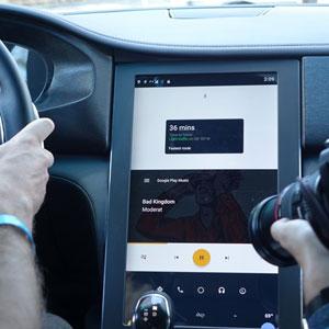 رونمایی پاناسونیک از سیستم ارتباطی داخل خودروی مجهز به اندروید
