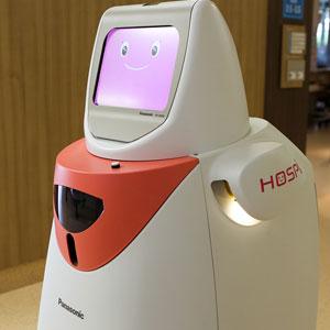 کارایی ربات HOSPI پاناسونیک