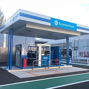 پاناسونیک طراحی ایستگاه سوخت هیدروژنی خود با عنوان H2 Kusatsu Farm را آغاز کرده است