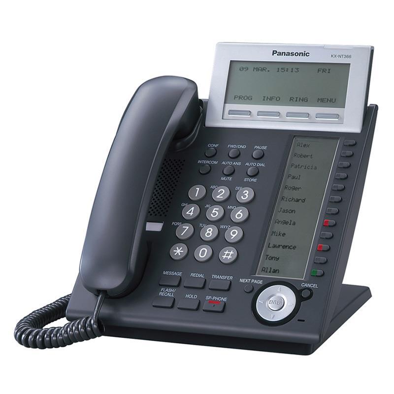 تلفن سانترال تحت شبکه پاناسونیک KX-NT366