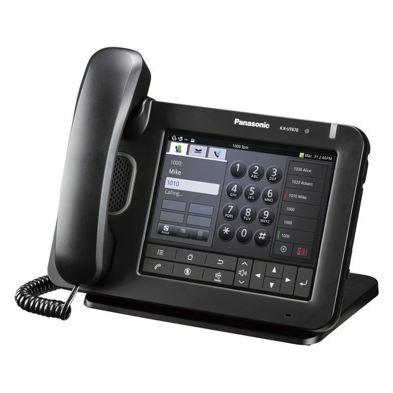 تلفن سانترال تحت شبکه SIP پاناسونیک KX-UT670