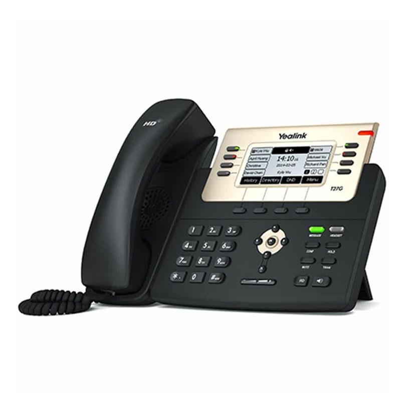 تلفن تحت شبکه یالینک SIP-T27G