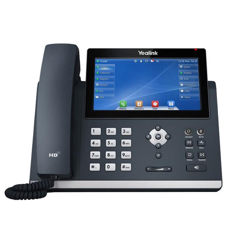 تلفن تحت شبکه یالینک SIP-T48U