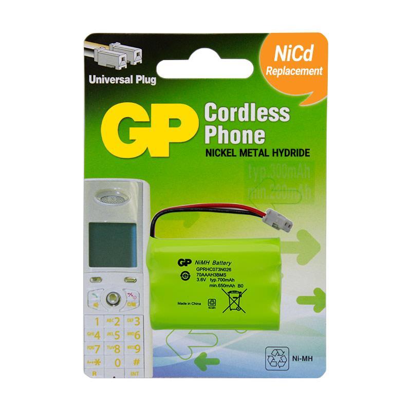 باتری تلفن بیسیم جی پی GP-RHC073N026