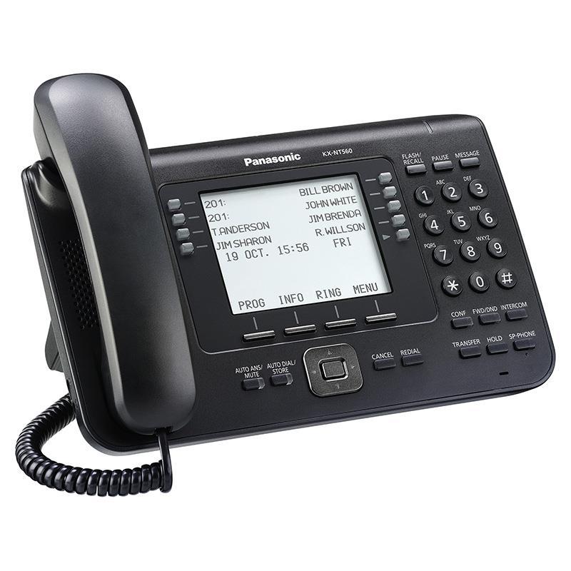 تلفن سانترال تحت شبکه پاناسونیک KX-NT560