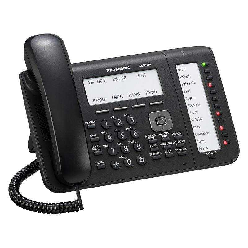 تلفن سانترال تحت شبکه پاناسونیک KX-NT556