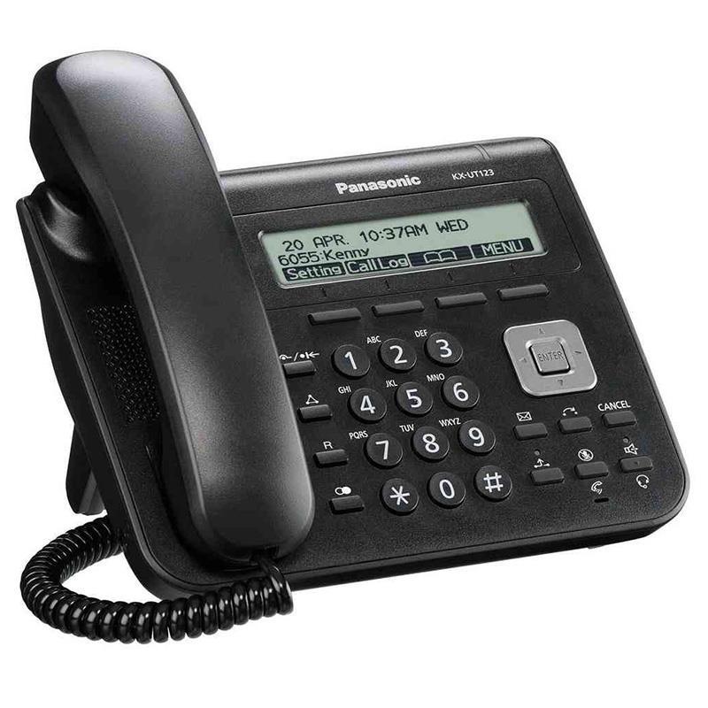 تلفن سانترال تحت شبکه پاناسونیک KX-UT123