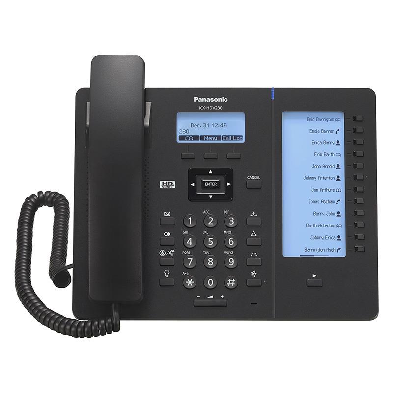 تلفن سانترال تحت شبکه SIP پاناسونیک KX-HDV230