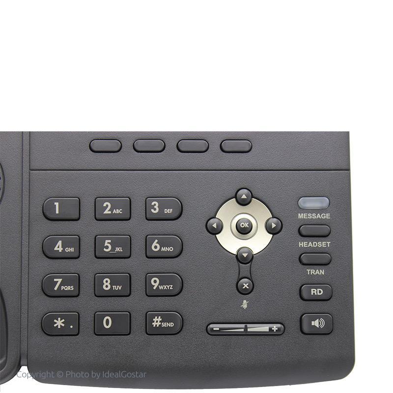 صفحه کلید تلفن تحت شبکه یالینک SIP-T23G