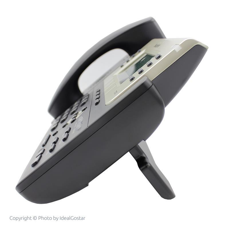 تصویر تلفن تحت شبکه یالینک SIP-T27G از کنار