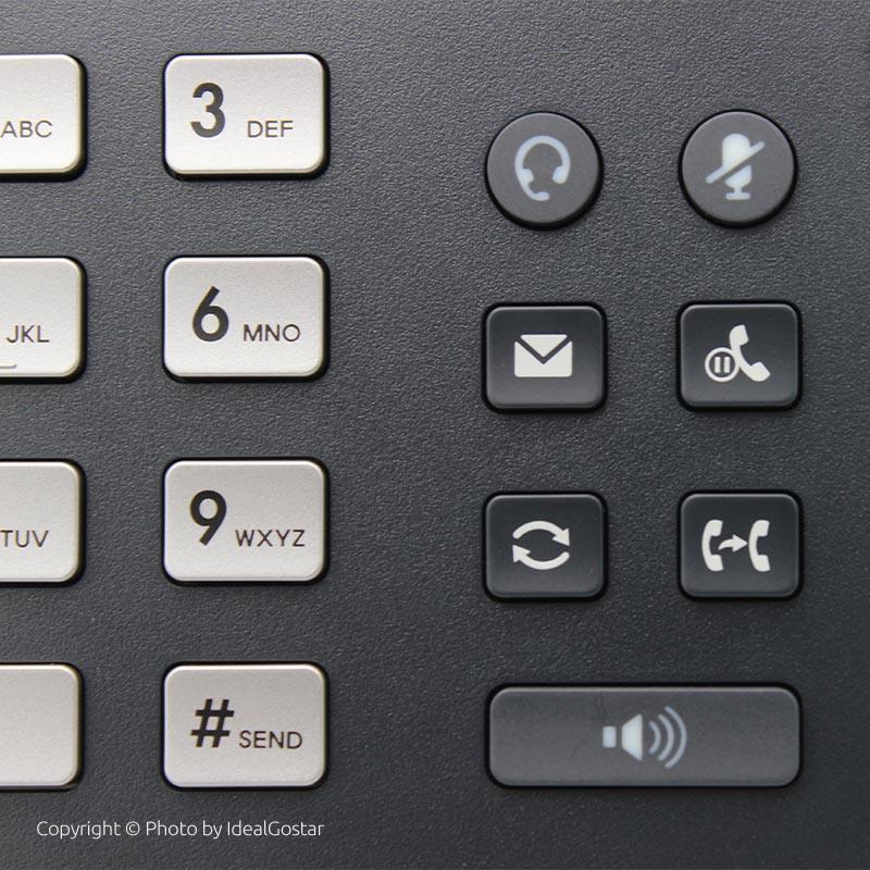 کلیدهای تلفن تحت شبکه یالینک T54W
