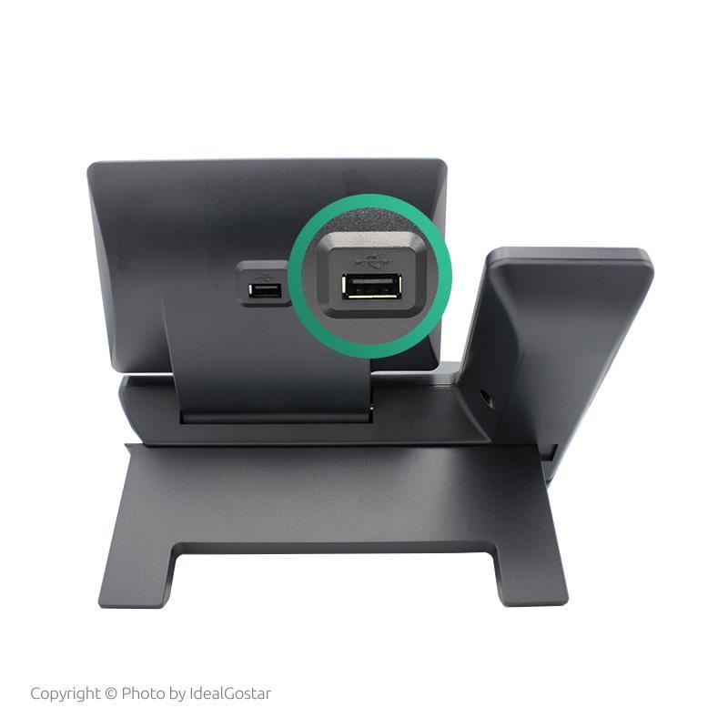 درگاه USB تلفن تحت شبکه یالینک SIP-T54W