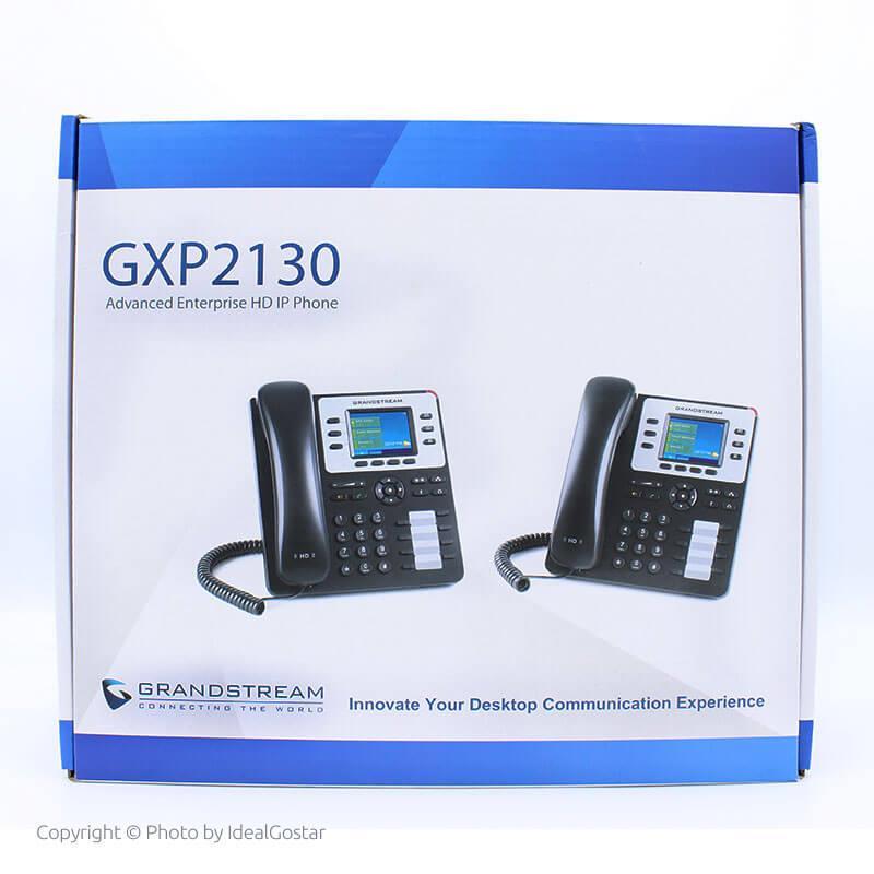 جعبه محصول تلفن تحت شبکه گرنداستریم GXP2130