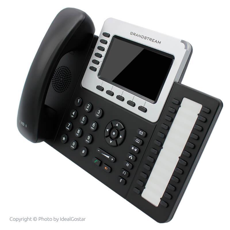 تصویر از بغل تلفن تحت شبکه گرنداستریم GXP2160