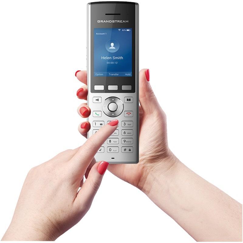 دست گرفتن گوشی تلفن بیسیم تحت شبکه گرند استریم WP820