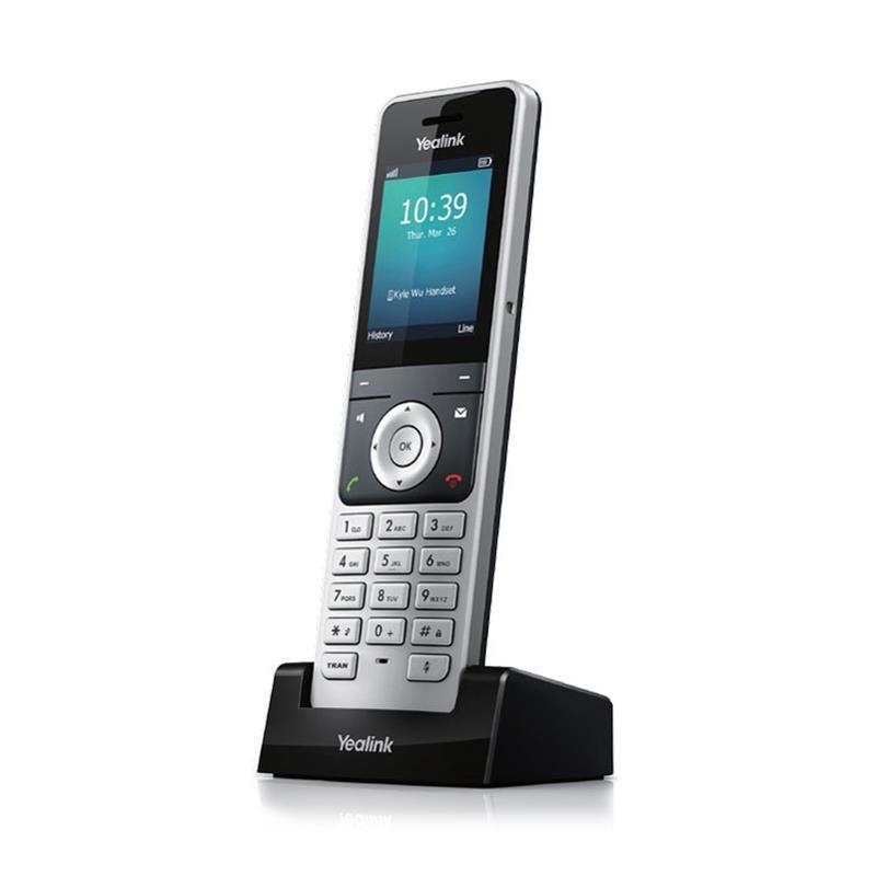 تصویر از کنار گوشی تلفن دکت شبکه یالینک W56P