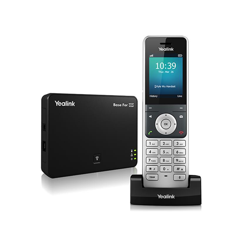 گوشی تلفن تحت شبکه یالینک W56P همراه با بِیس