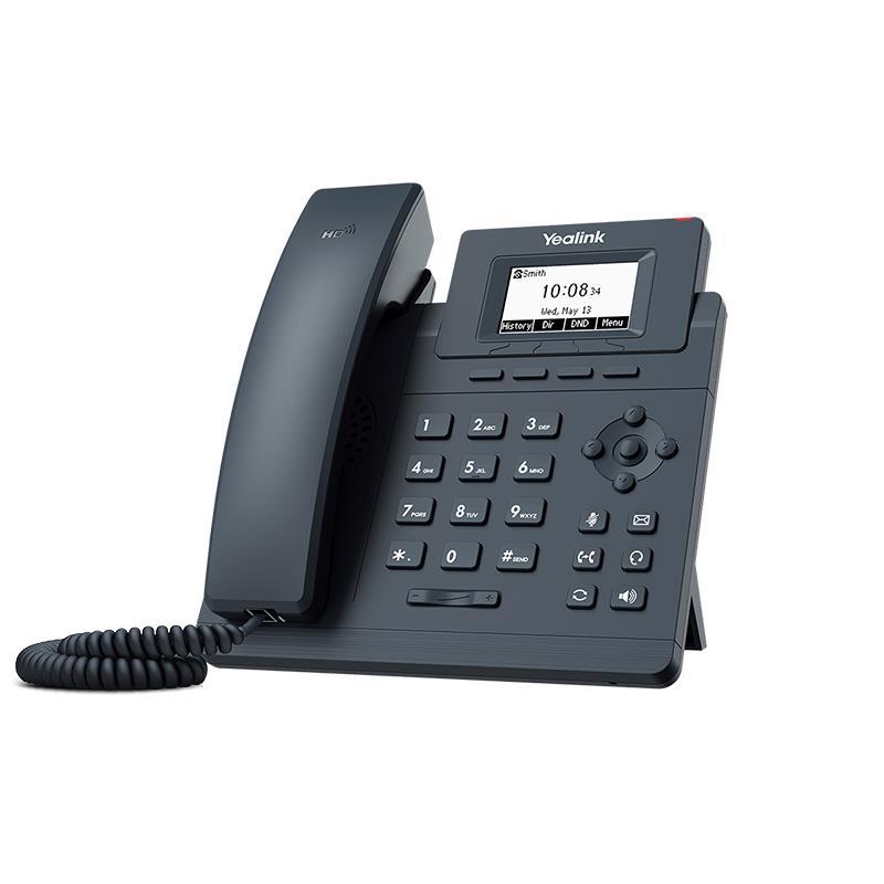تصویر تلفن تحت شبکه یالینک SIP-T30 از کنار