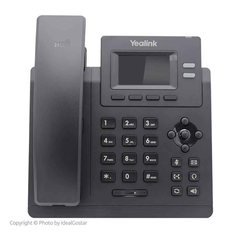 تلفن تحت شبکه یالینک T31P در حالت خاموش