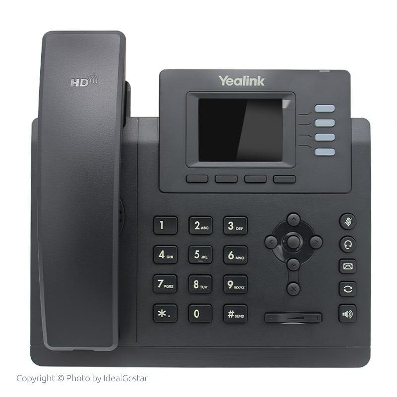 تلفن تحت شبکه یالینک SIP-T33G در حالت خاموش