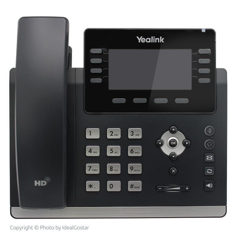 تلفن تحت شبکه یالینک T43U در حالت خاموش