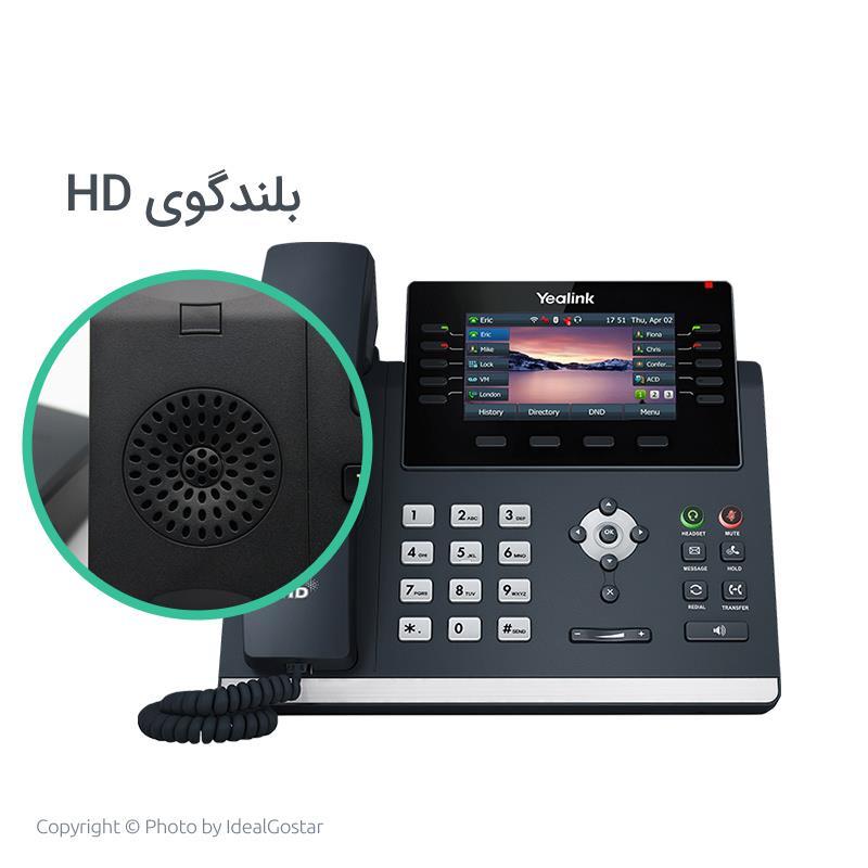 کیفیت صدا تلفن تحت شبکه یالینک SIP-T46U