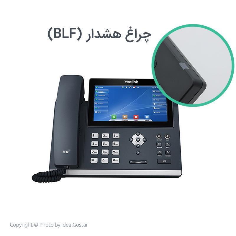 چراغ هشدار تلفن SIP-T48U