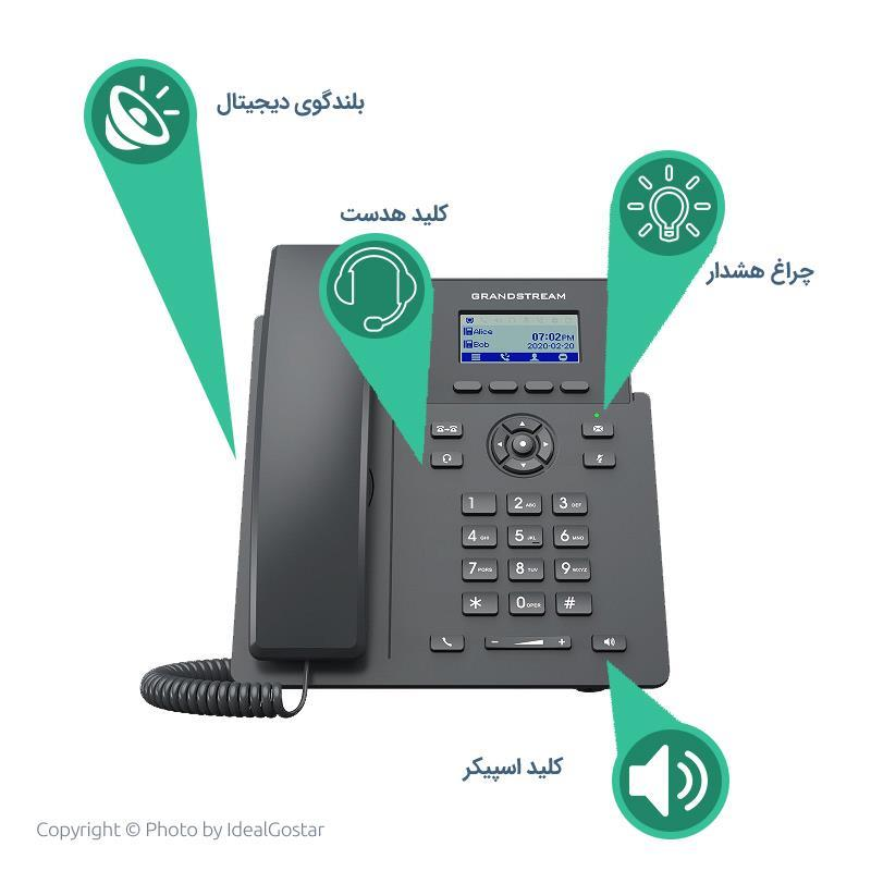 تلفن تحت شبکه گرنداستریم GRP2601