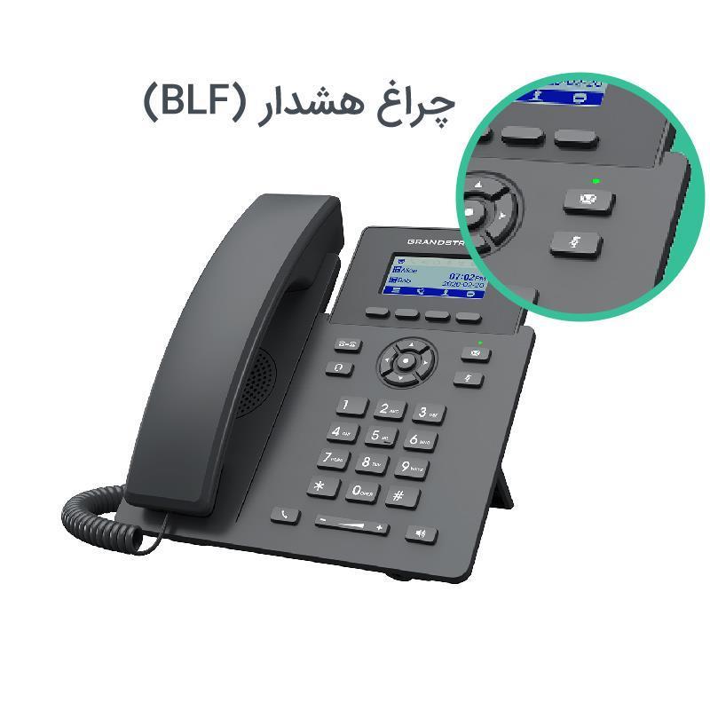 تلفن تحت شبکه گرنداستریم GRP2601 چراغ هشدار