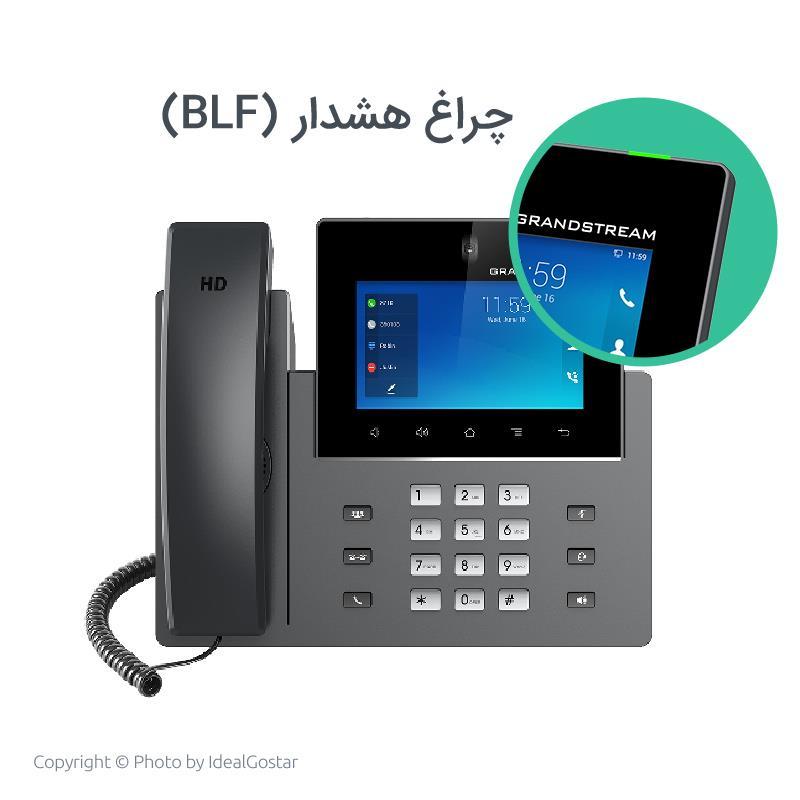 چراغ هشدار تلفن تحت شبکه گرنداستریم مدل GXV3350