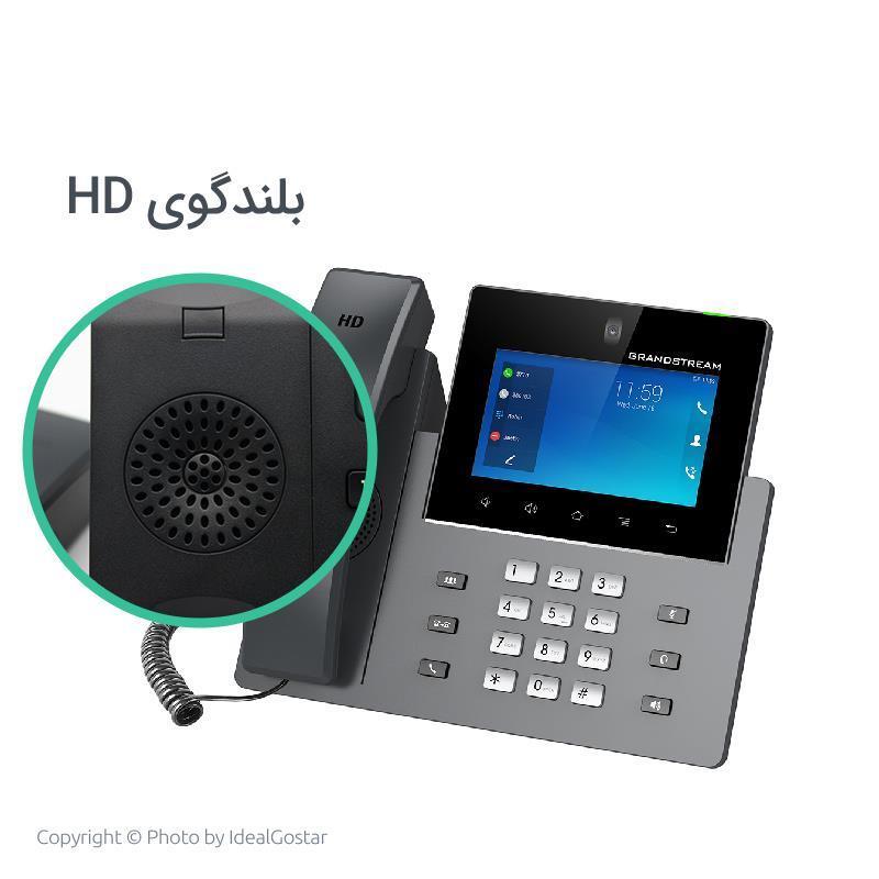 بلندگوی hd تلفن تحت شبکه گرنداستریم مدل GXV3350