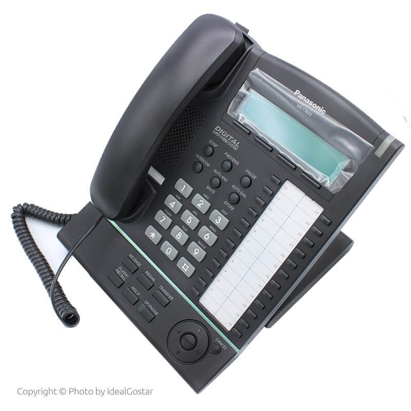تصویر متمایل تلفن سانترال دیجیتال پاناسونیک KX-T7633