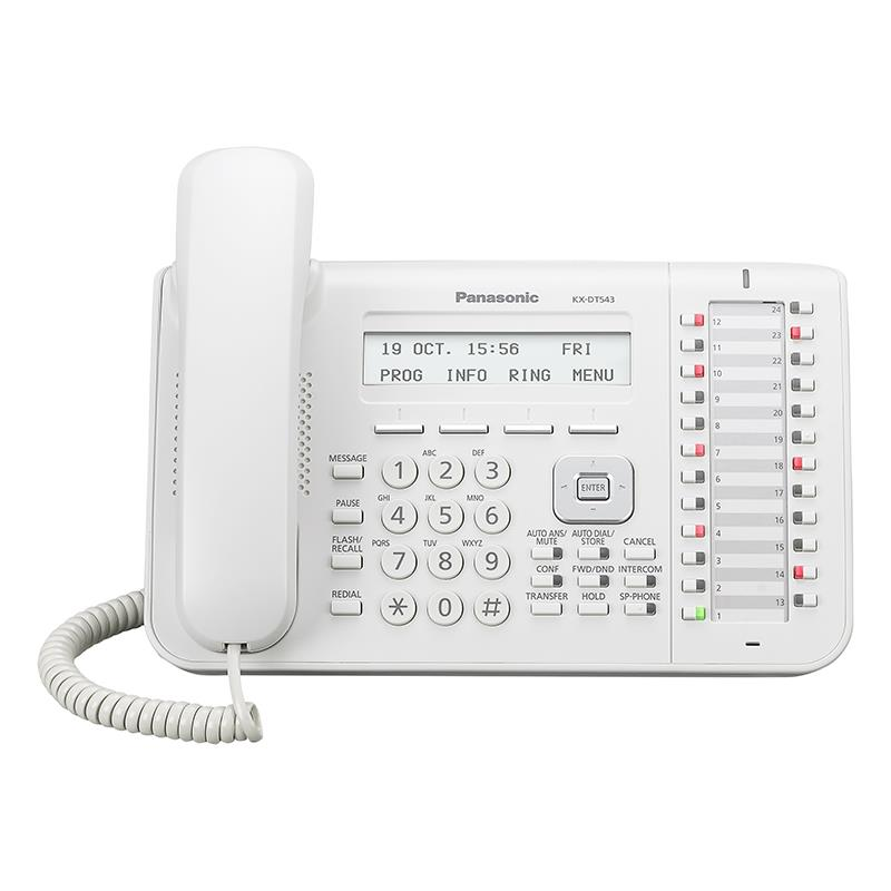 تلفن سانترال دیجیتال پاناسونیک KX-DT543