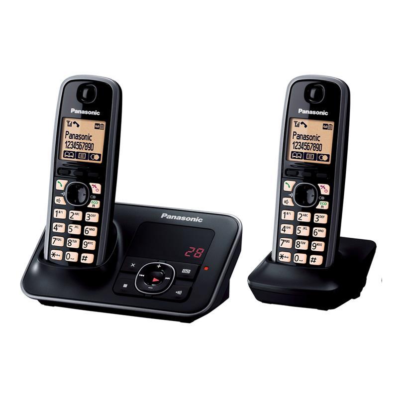 تلفن بیسیم پاناسونیک KX-TG3722 در حالت روشن