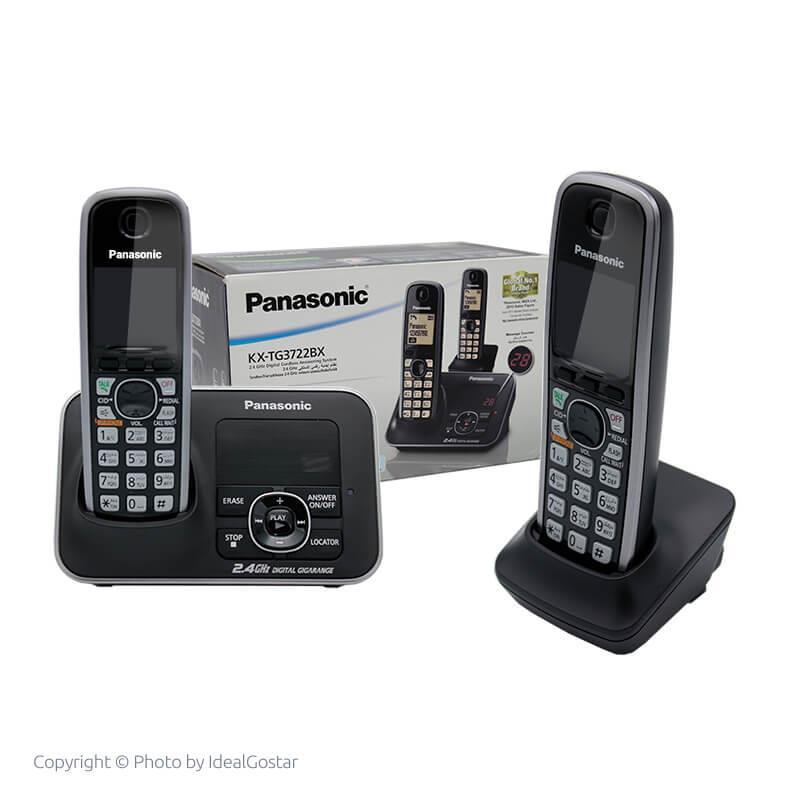 جعبه تلفن بی سیم پاناسونیک KX-TG3722