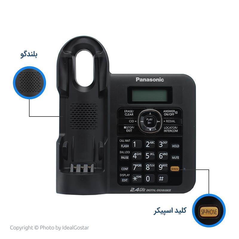 ویژگیهای بیس تلفن بیسیم پاناسونیک 3821