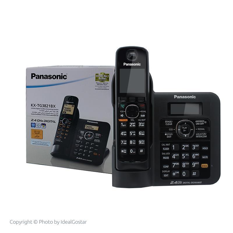 جعبه تلفن بیسیم پاناسونیک KX-TG3821