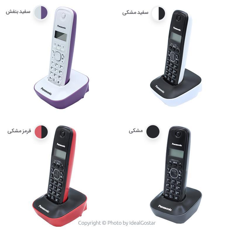 رنگهای تلفن بیسیم پاناسونیک KX-TG1611SPH