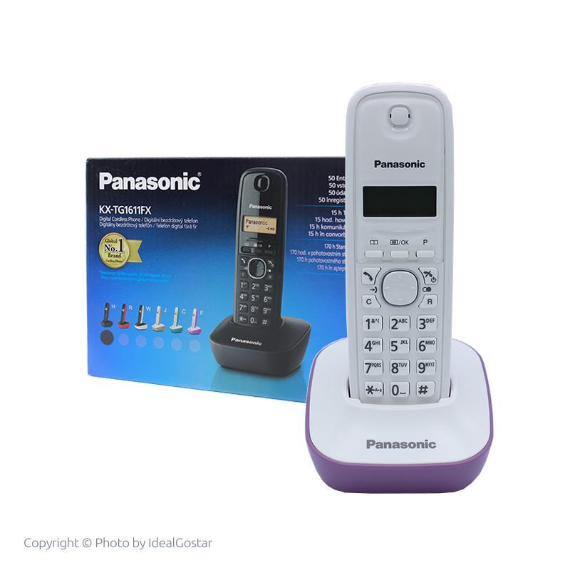 جعبه تلفن بی سیم پاناسونیک KX-TG1611