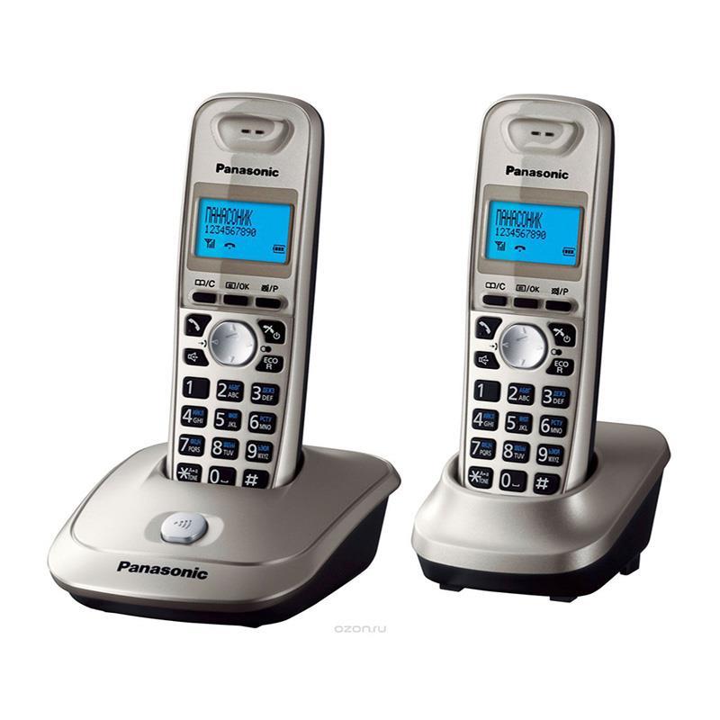 تلفن بی سیم پاناسونیک KX-TG2512