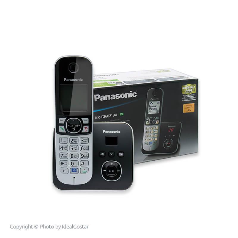 جعبه گوشی تلفن بیسیم KX-TG6821