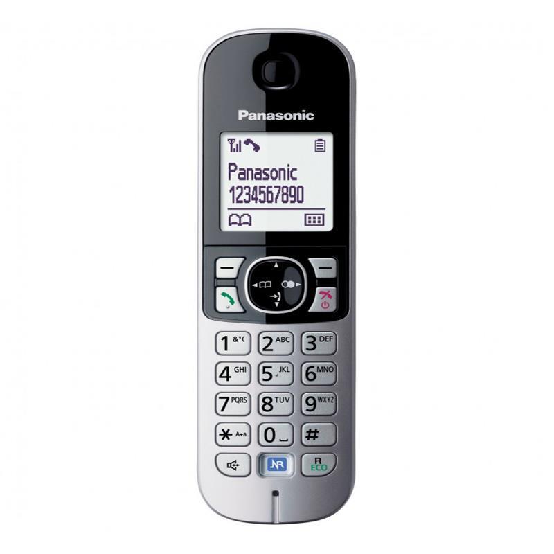 گوشی تلفن بیسیم پاناسونیک KX-TG6811 در حالت روشن